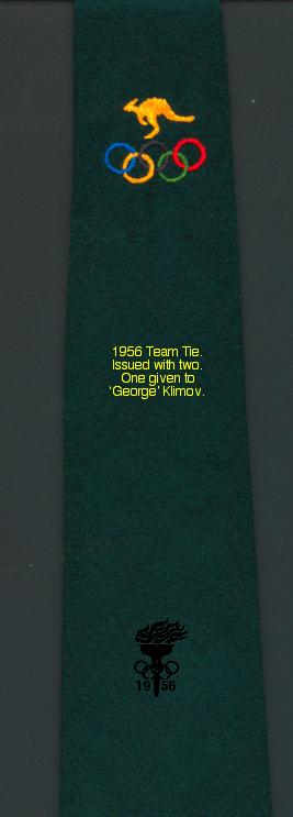 The official team tie for the Australian Team